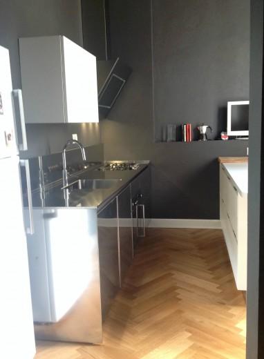 Roversi immagine del 31 ottobre 2015 C93 Cucina in acciaio  inox  L 276cm Steellart