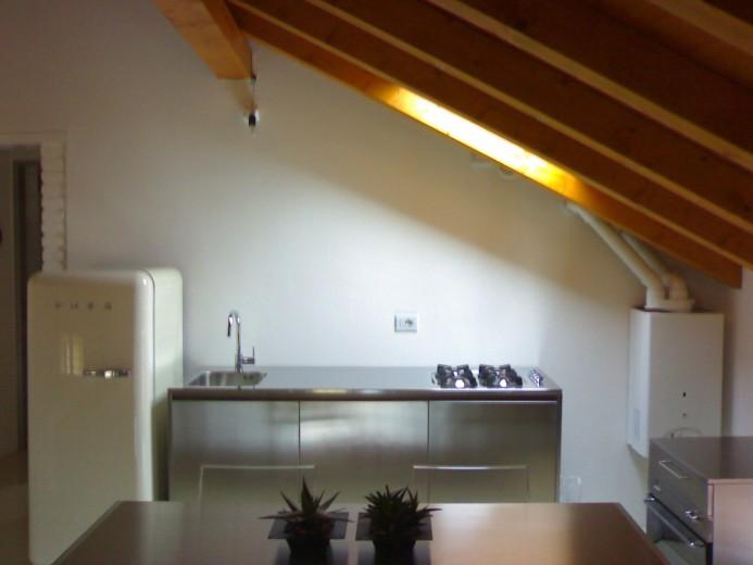 Vassalli 20 maggio C67 Stainless steel kitchen centre width 184 Steellart