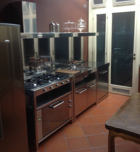 Vertua 3tris 27 ottobre(1) C69 Kitchen with freestanding units Steellart