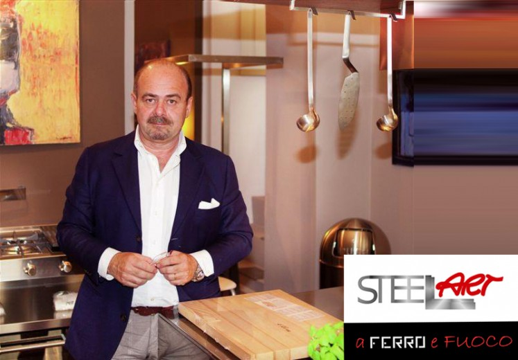 gamberini3 Le cucine in acciaio di Steellart Steellart