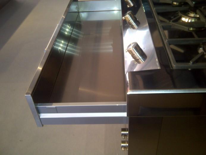 C65 Blocco cucina full inox lineare - Cucine in acciaio inox, cucine ...