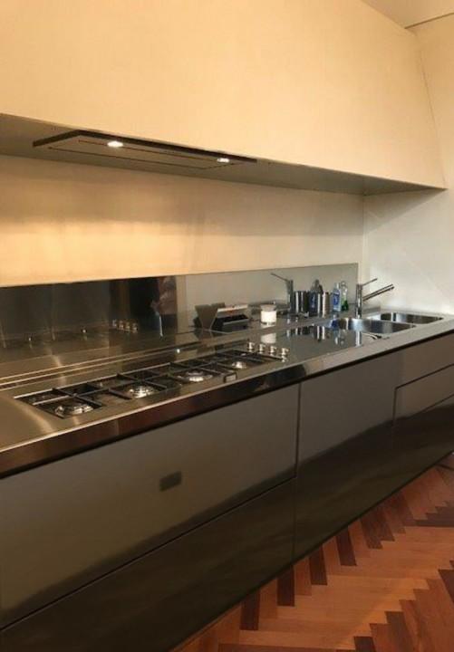 marchesi 6 modif. aprile 2018jpg C128 Cucina: blocco acciaio inox L390 con cappa 390 Steellart