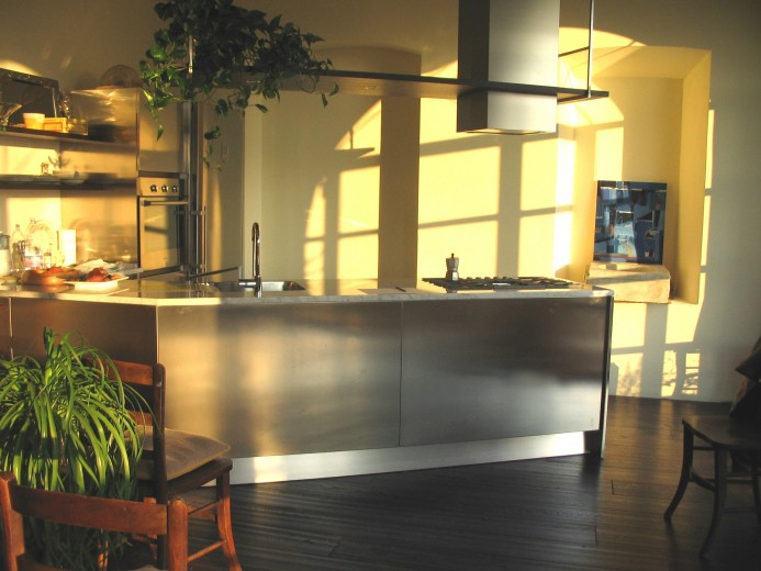 santi 115.modificatojpg C66 Peninsula corner kitchen Steellart