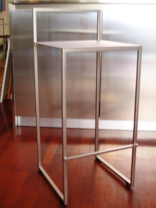 sgabello inox Interior 1rid ID 81 Sgabello in acciaio inox Steellart